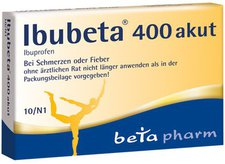 beta pharm Ibubeta 400 akut Filmtabletten (10 Stk.)