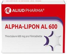 Aliud Alpha Lipon Al 600 Filmtabl. (30 Stück)