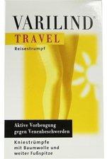 Varilind Travel Kniestrumpf Baumwolle XL beige