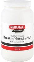 Megamax Kreatin Monohydrat 100% Megamax Pulver (1000 g)