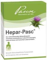 PASCOE Vital Hepar Pasc Filmtabletten (60 Stück)