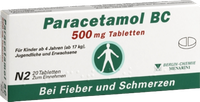 Berlin-Chemie Paracetamol Bc 500 mg Tabletten (20 Stück)