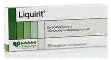 Dr. Loges Liquirit Kautabletten (50 Stück)