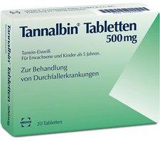 Medice Tannalbin Tabletten (20 Stk.)