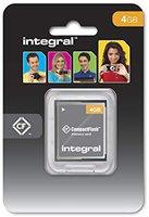Integral Compact Flash Card 4 GB