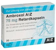 AbZ Ambroxol 75 Mg Retardkaps. (20 Stück)