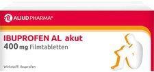 Aliud Ibuprofen AL Akut 400 mg Filmtabletten (10 Stück)
