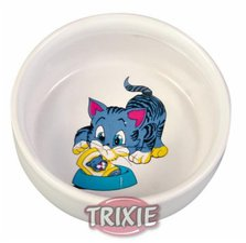 Trixie 4009 Kitten-Napf Keramik (0,3 l / 11 cm)