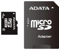 A-Data microSDHC Card Turbo Class 6 4 GB