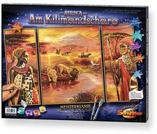 Schipper Malen nach Zahlen Afrika am Kilimandsc...