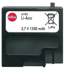 Siku Power Akku LiPo 3.7V 1500mAh (6705)