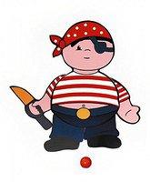 Hess Spielzeug Hampel-Pirat