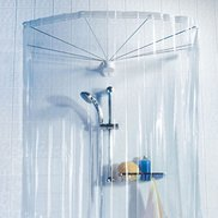 Spirella Duschspinne Ombrella Clear