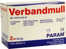 PARAM Verbandmull 2 m Lagen (1 Stk.)