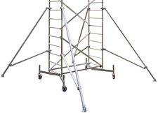 Krause ClimTec Arbeitsgerüst Grundgerüst + 1. + 2. Aufstockung
