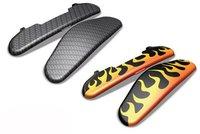 Garmin Carbon und Flammen-Kappen für zumo