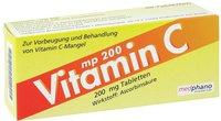 Medphano Vitamin C 200 mg Tabletten (50 Stk.)