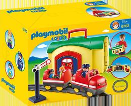 Playmobil Meine Mitnehm-Eisenbahn